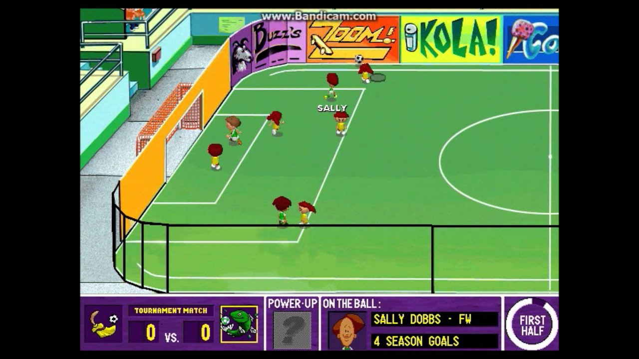 backyard soccer league pc tournament game 7 8 sweep the floor
