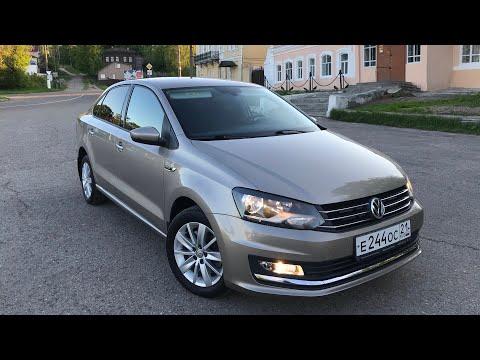 Обзор Volkswagen Polo не битая не крашеная с пробегом 50 в топовой комплектации