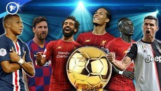 Les 30 nommés pour le Ballon d'Or 2019