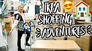 IKEA FURNITURE SHOPPING!! MOVING VLOGS!