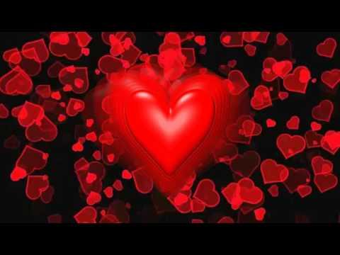 Очень красивый бесплатный футаж Биение влюбленных сердец