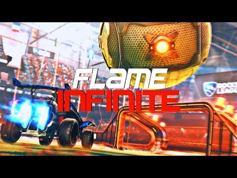 FLAME - INFINITE  (BEST GOALS, DRIBBLES, RLCS CONTENDER, ESL MONTHLY CHAMPION)