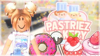 A Day Working in Pastries Bakery!  Roblox Pastries Bakery.