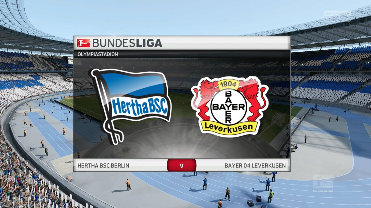 Fifa 16 Hertha Bsc Vs Bayer Leverkusen Olympiastadion