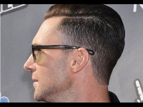 Undercut Hairstyle Adam Levine - YouTube