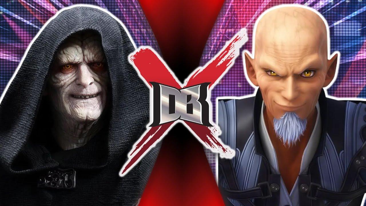 Palpatine VS Xehanort ( Star Wars vs Kingdom Hearts )