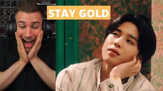 Download lagu I LOVE THIS! BTS (방탄소년단) 'Stay Gold' Official MV  - REACTION