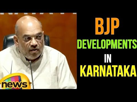 Amit Shah Press Conference at BJP Central Office | Mango News