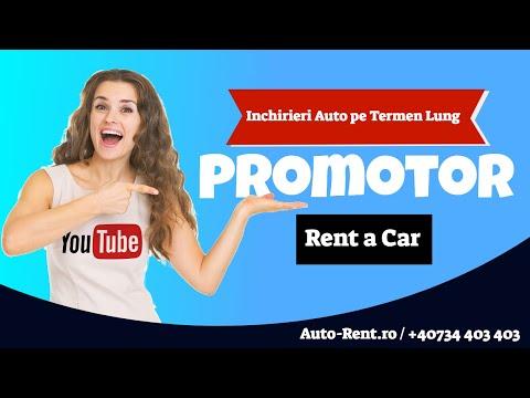 Inchirieri masini termen lung, Leasing operational Promotor Rent a Car Bucuresti Romania