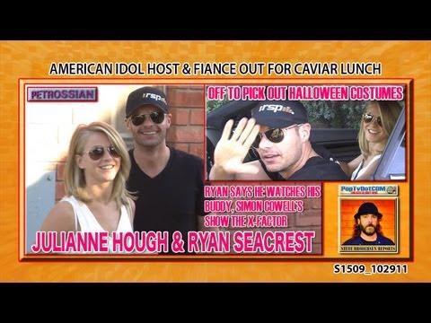 RYAN SEACREST & JULIANNE HOUGH Chat X-Factor S1509