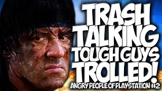 "COD BLACK OPS 3: TRASH TALKING TOUGH GUYS TROLLED!! ANGRY PEOPLE OF PLAYSTATION #2 ""PARTY TROLLING"""