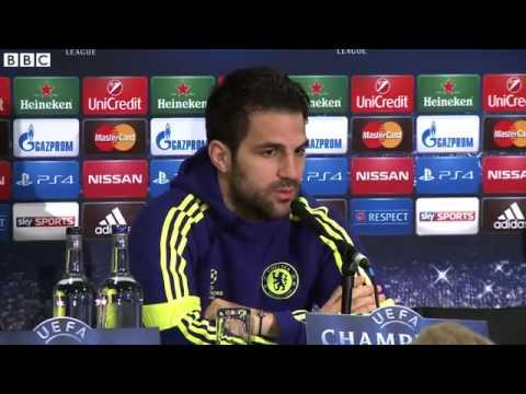 Mourinho 'So Happy' With Fabregas 13 03 2015