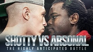 SHOTTY HORROH VS ARSONAL Don t Flop Rap Battle