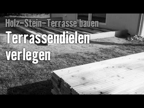 version 2013 holz stein terrasse bauen kapitel 5 hornbach meisterschmiede youtube. Black Bedroom Furniture Sets. Home Design Ideas