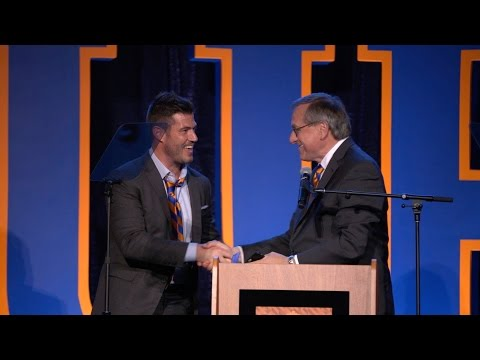 UF in NY - Jesse Palmer speaks to Gotham Gators - YouTube