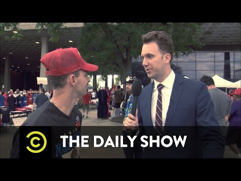 The Daily Show - Jordan Klepper Fingers the Pulse - Conspiracy Theories Thrive at a Trump Rally