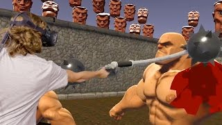 Bloody VR in Real Life - Gladiator GORN