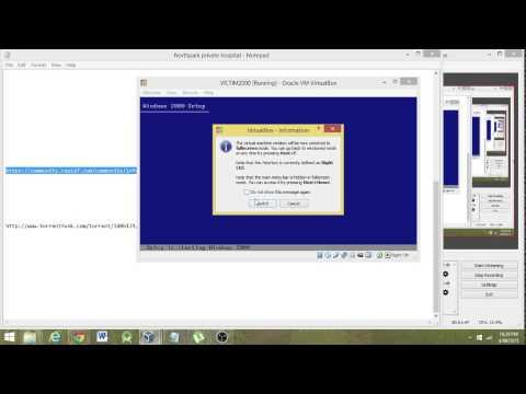 VICTIM2000 - Windows 2000 setup