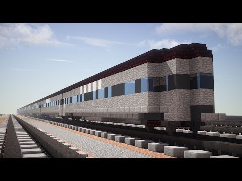 Minecraft New York Central 20th Century Limited Coaches Tutorial