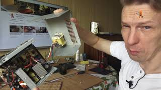 Снятие, разборка и чистка блока питания стационарного компьютера своими руками