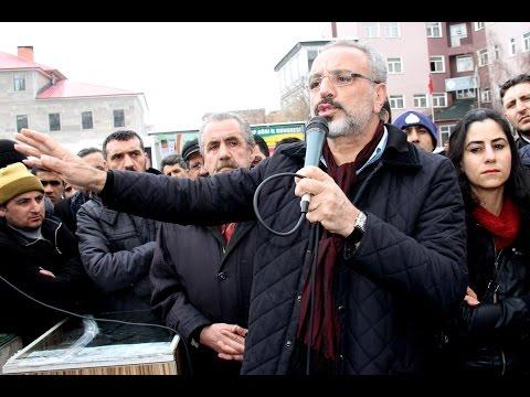 SIRRI SAKIK - PKK'ya silah bırakma çağrısı - AĞRI