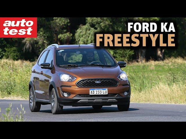 Prueba: Ford Ka FreeStyle