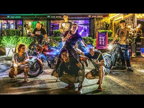 Клуб китайских байкеров, ночёвка