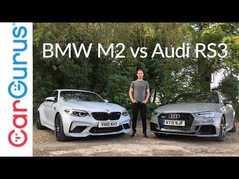 BMW M2 Competition vs Audi RS3: Which is the better driver's car? | CarGurus UK