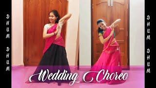 "Dhum Dhum Dhum Dhum|Malayam movie ""Rakkilipattu""| Dance video| Simple| Wedding Choreo|Aditi|Aparna"