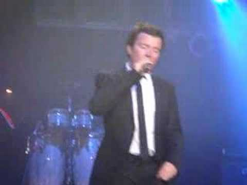 Rick Astley (LIVE) Special Guest Vocals Lucy Handley
