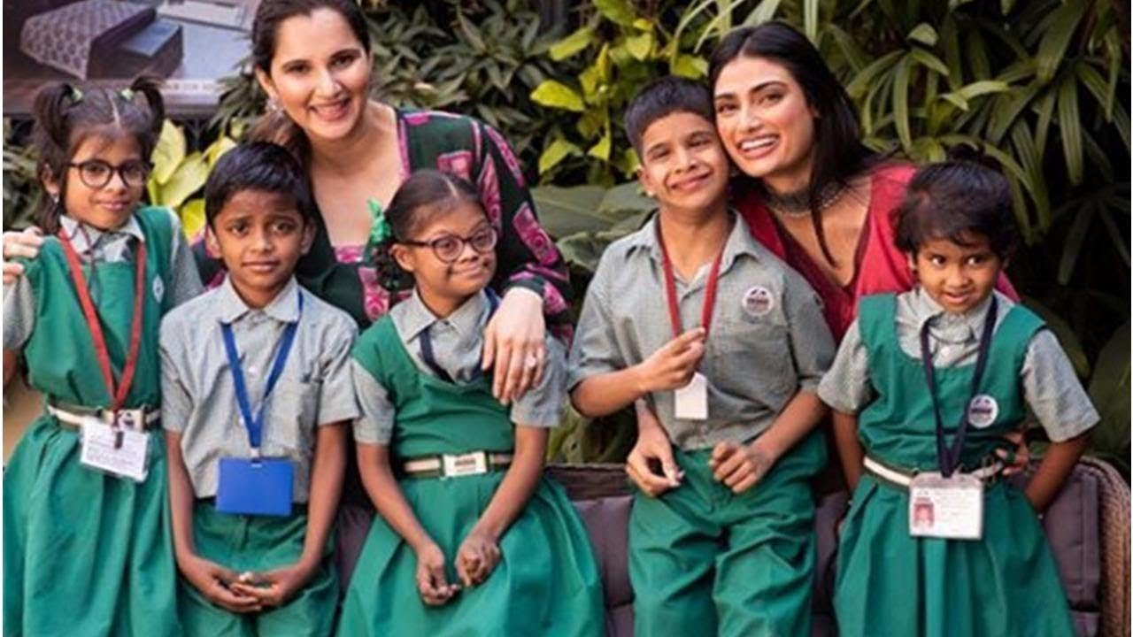 Image result for Athiya Shetty collaborates with Sania Mirza for mother Mana Shetty's Save the Children initiative