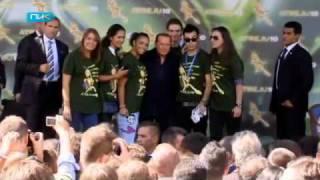 Миллион евро за голого Берлускони