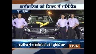 Gujarat: Surat diamond merchant gifts Mercedes-Benz SUVs to employees
