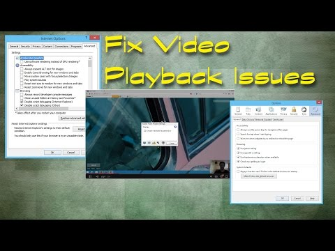Fix Video Playback Issues (Hardware Acceleration)