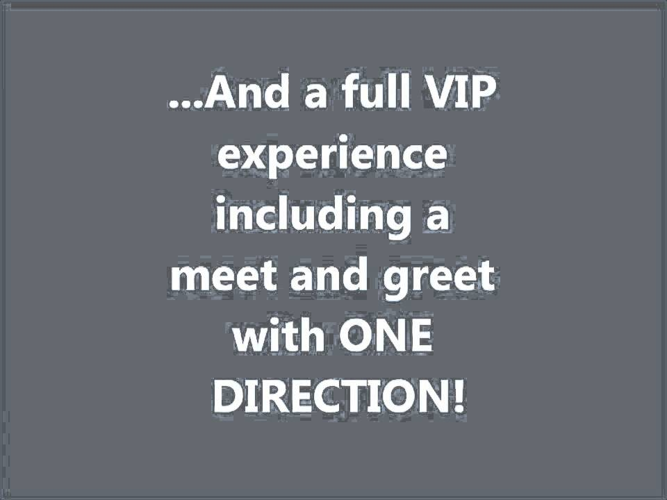 Win free vip one direction tickets only 22 spots left youtube win free vip one direction tickets only 22 spots left m4hsunfo