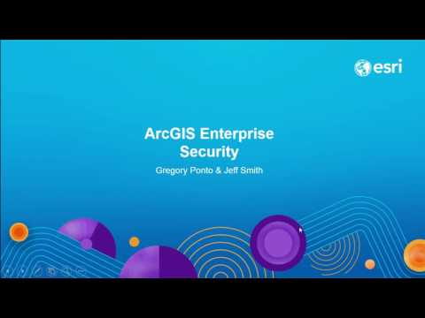 ArcGIS Enterprise Security