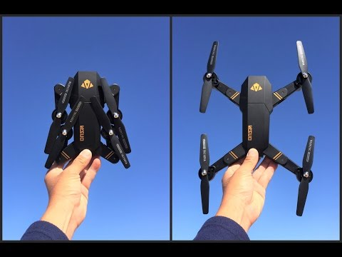 Visuo Drone Tianqu xs809w Foldable RC Quadcopter