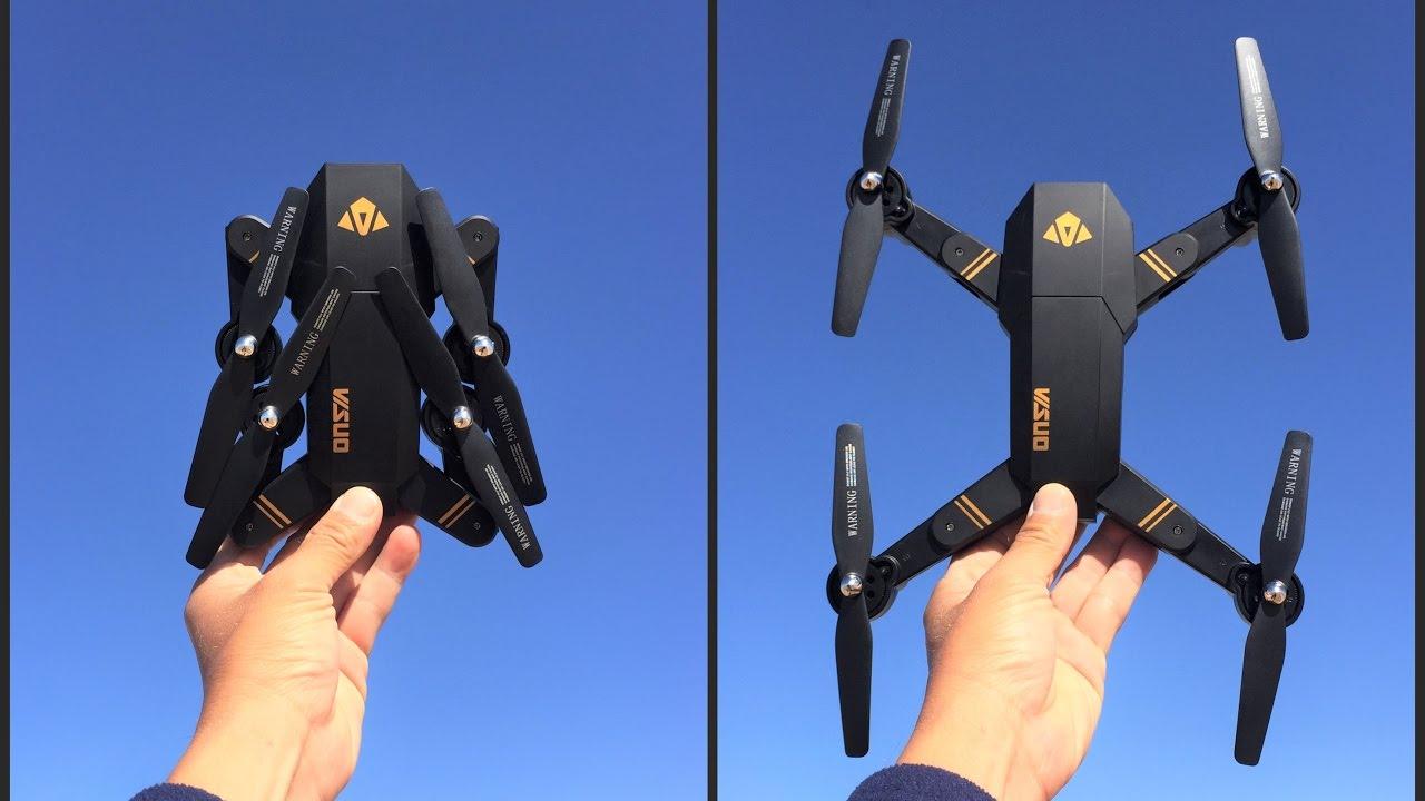 Visuo Drone Tianqu xs809w Foldable RC Quadcopter - YouTube b14455fea9