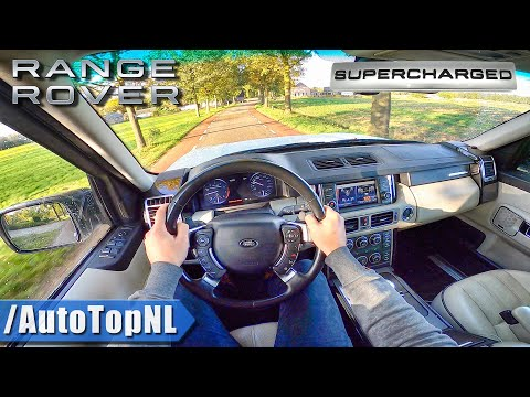 RANGE ROVER Autobiography L322   5.0 V8 SUPERCHARGED   POV Test Drive By AutoTopNL