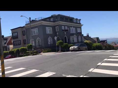Pacific Heights walk down Divisidero