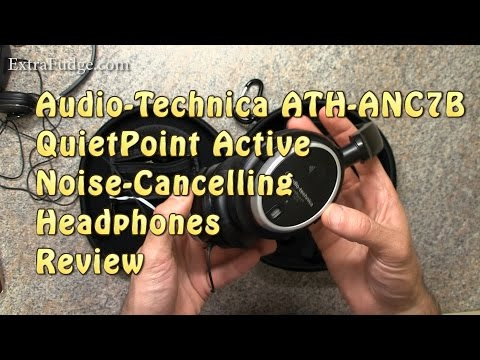 Audio-Technica ATH-ANC7B QuietPoint Active Noise-Cancelling Headphones Review