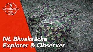 Biwaksack der niederländischen Armee - Explorer - Observer - Niederlande