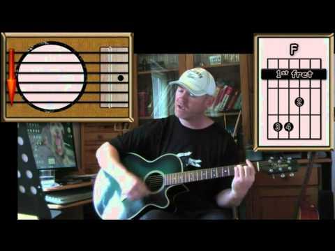 74 75  The Connells  Acoustic Guitar Lesson Detune Half Step