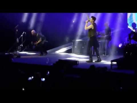 The Script - Nothing (+phone call to ex) @ Perth Arena 24 April2015