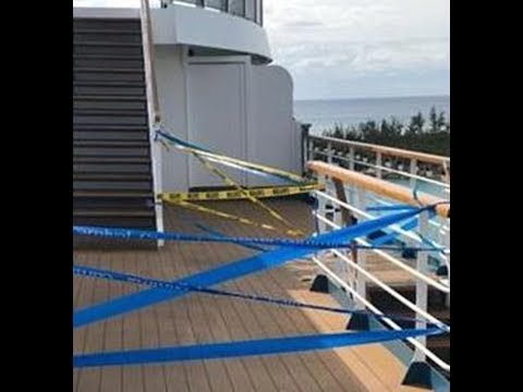 Woman dies on luxury Caribbean cruise after falling '20ft' from balcony onto deck below one