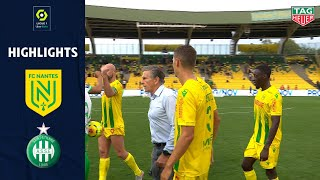 FC NANTES - AS SAINT-ÉTIENNE (2 - 2 ) - Highlights - (FC NANTES - ASSE) / 2020/2021