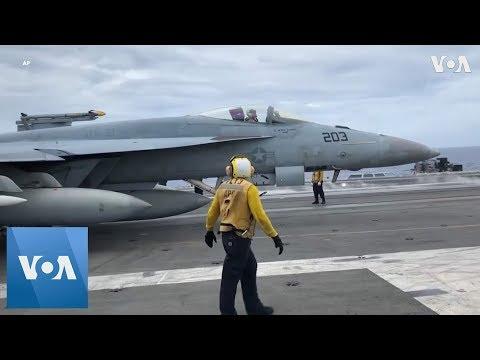 U.S. Ship Sails Through Disputed South China Sea