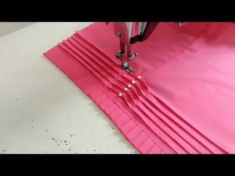 Beautiful Palazzo Pant Design making | Pintucks Palazzo Design with Frill | Reet Designs