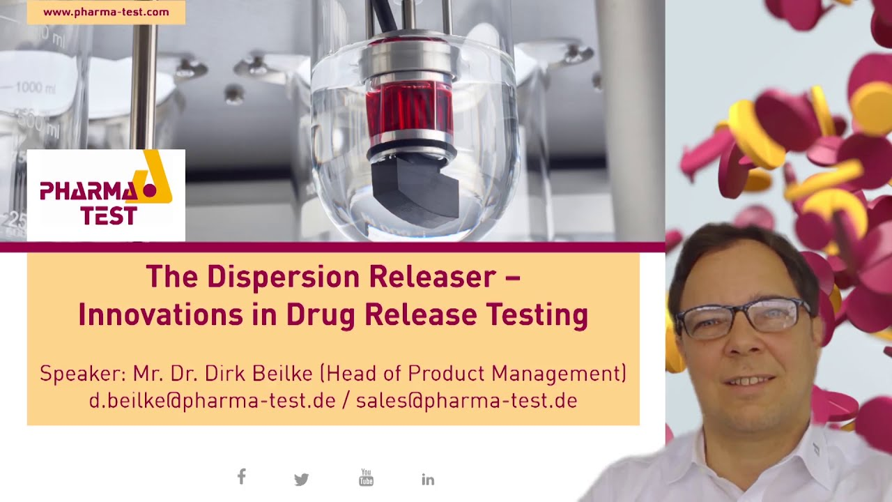 New presentation of the Dispersion Releaser a solid testing apparatus for nano and microformulation.