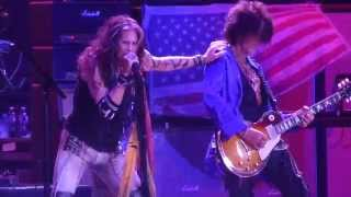 """Kings & Queens & Rats in the Cellar"" Aerosmith@Boardwalk Hall Atlantic City 8/31/14"